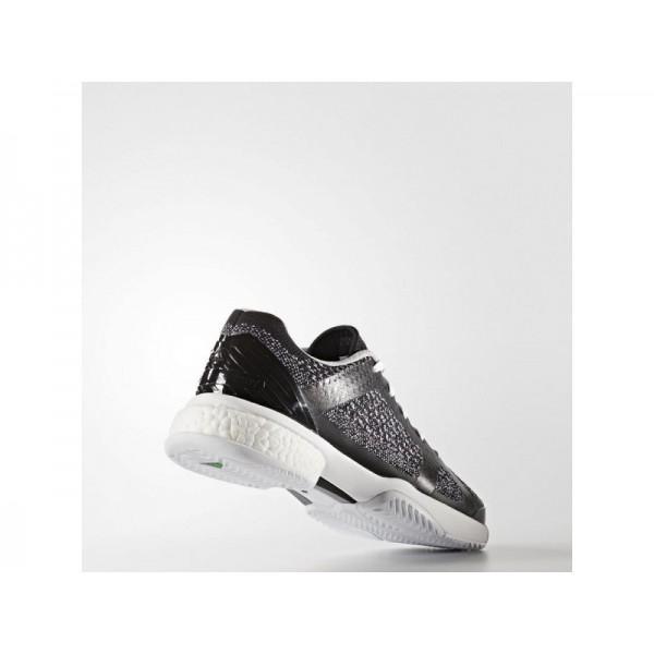 BARRICADE BOOST adidas Damen Tennis Schuhe - Schwarz-Weiss