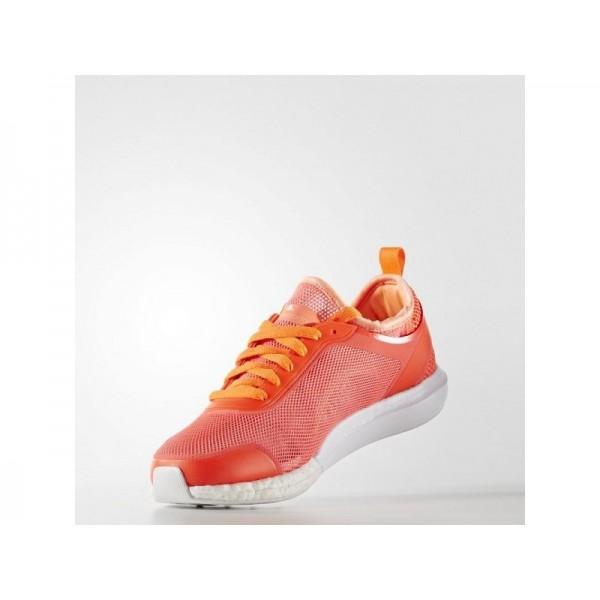 CLIMACOOL SONIC adidas Damen Training Schuhe - Turbo F11/Solar-Rot/Weiß