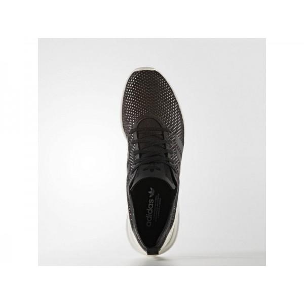 Adidas Damen ZX Flux Originals Schuhe - Black/Black/White