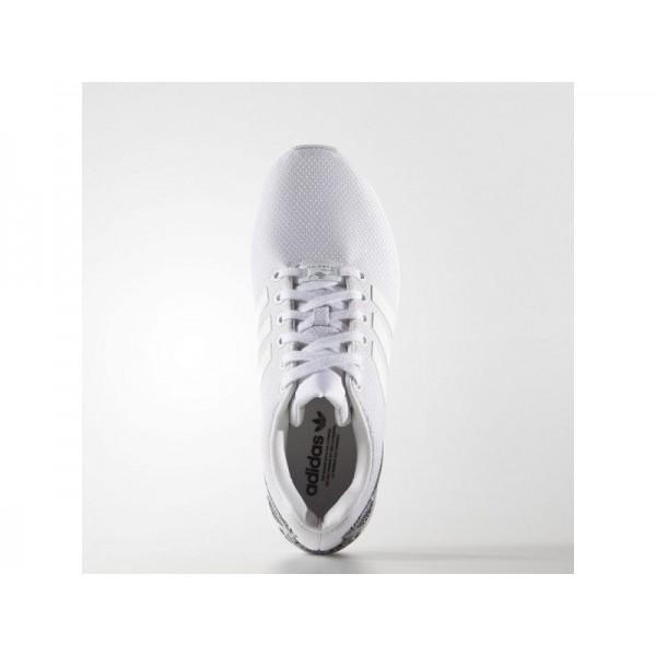 Adidas ZX Flux für Damen Originals Schuhe Online - Ftwr White/Ftwr White/Black