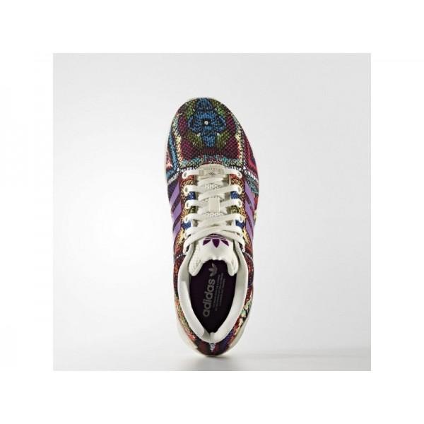 Adidas ZX Flux für Damen Originals Schuhe - Off White/Off White/Mid Grapef07