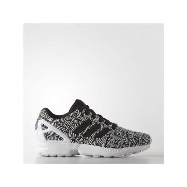 Adidas Damen ZX Flux Originals Schuhe - Black/Black/Ftwr White