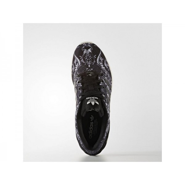 Adidas Damen ZX Flux Originals Schuhe - Black/Black/Off White