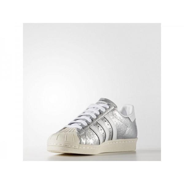Adidas Superstar für Damen Originals Schuhe - Matte Silver/Ftwr White/Ftwr White