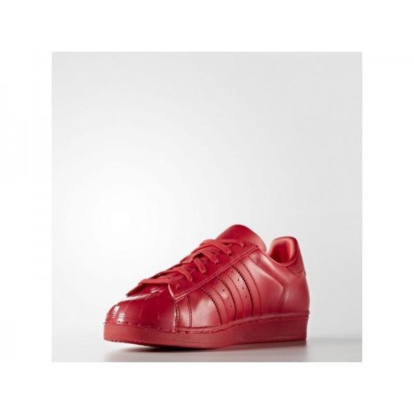 Adidas Superstar für Damen Originals Schuhe - Ray Red F16/Ray Red F16/Black