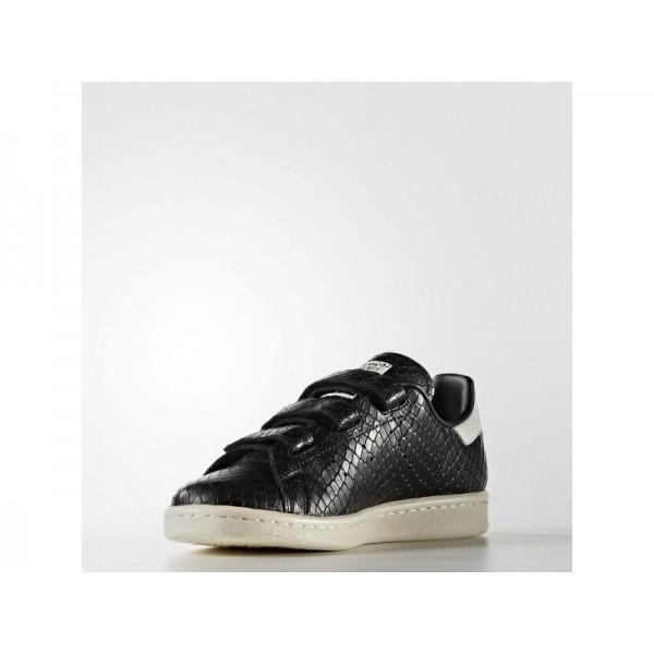 Adidas Damen Stan Smith Originals Schuhe - Black/Black/Off White
