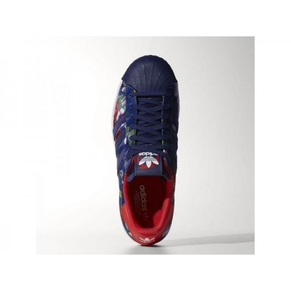 Adidas Superstar für Damen Originals Schuhe - Night Sky/Night Sky/Red