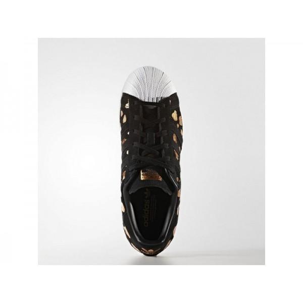 Adidas Superstar für Damen Originals Schuhe - Black/Black/Copper Met. Adidas S76152