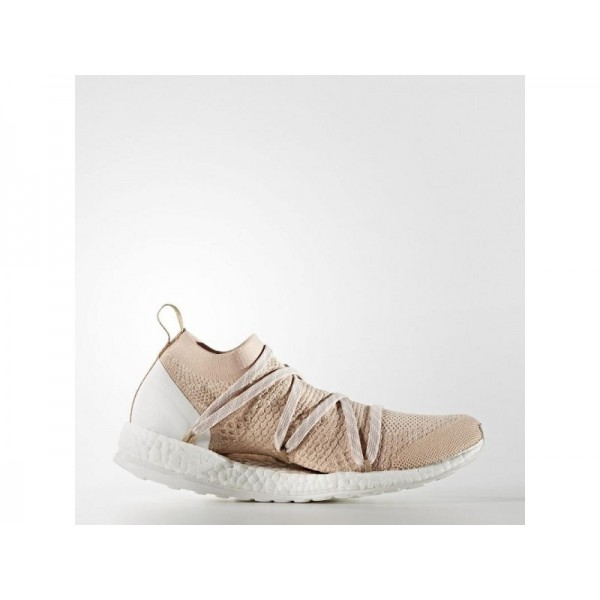Adidas Pure Boost für Damen Training Schuhe - Copper Met./White Chalk S10/Bliss Coral S13