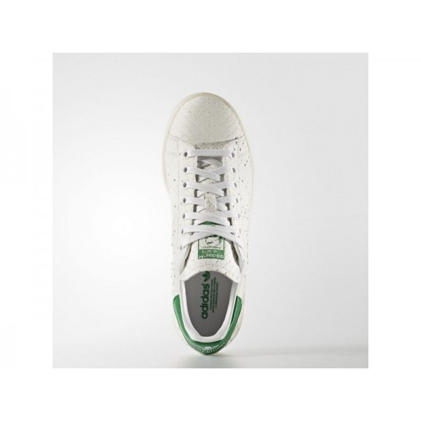 Adidas Damen Stan Smith Originals Schuhe - Crystal White S16/Crystal White S16/Green