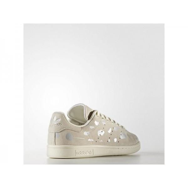 Adidas Stan Smith für Damen Originals Schuhe - Off White/Off White/Silver Met.