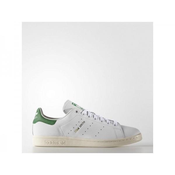 Adidas Stan Smith für Damen Originals Schuhe Verkaufen - White/Green Adidas S75074
