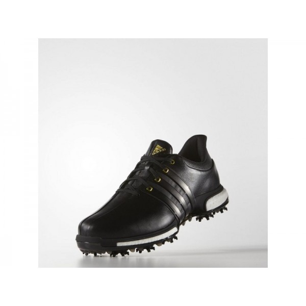 Adidas Herren Tour 360 Golf Schuhe - Black/Gold Metallic Adidas F33250