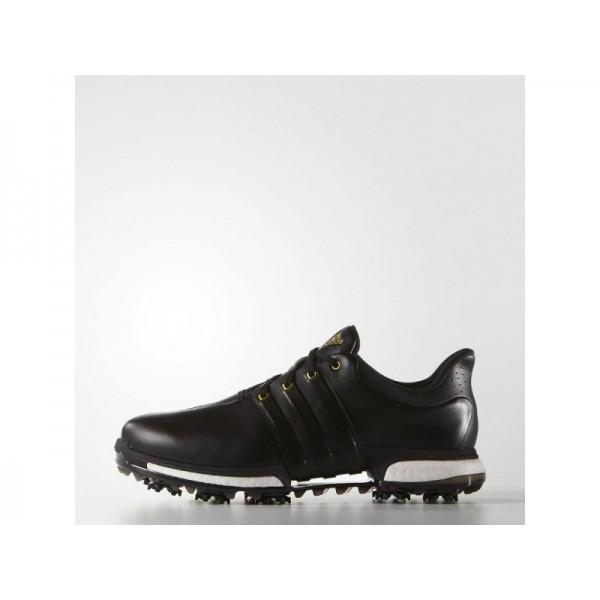 Adidas Herren Tour 360 Golf Schuhe - Black/Gold Metallic Adidas F33250