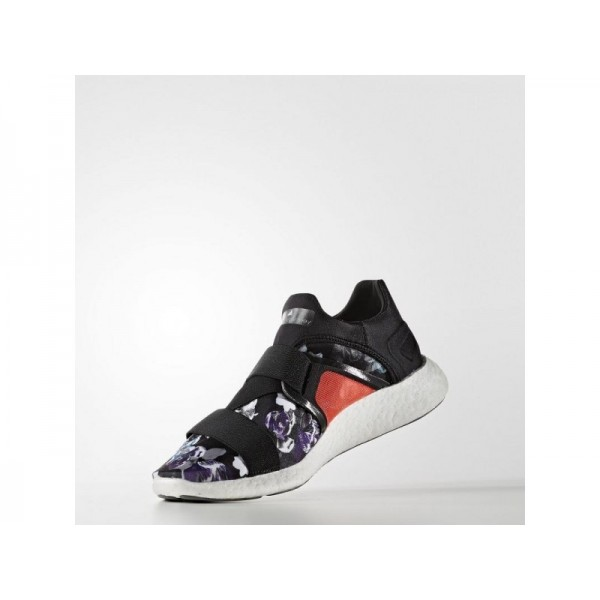 Adidas Damen Pure Boost Training Schuhe - Turbo F11/Frost Grey-Smc/Prism Blue F13