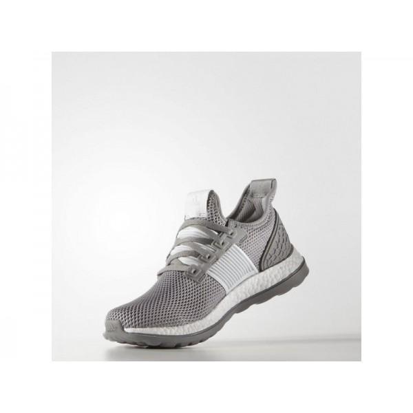 Adidas Pure Boost für Damen Running Schuhe - Ch Solid Grey/Crystal White S16/Ch Solid Grey