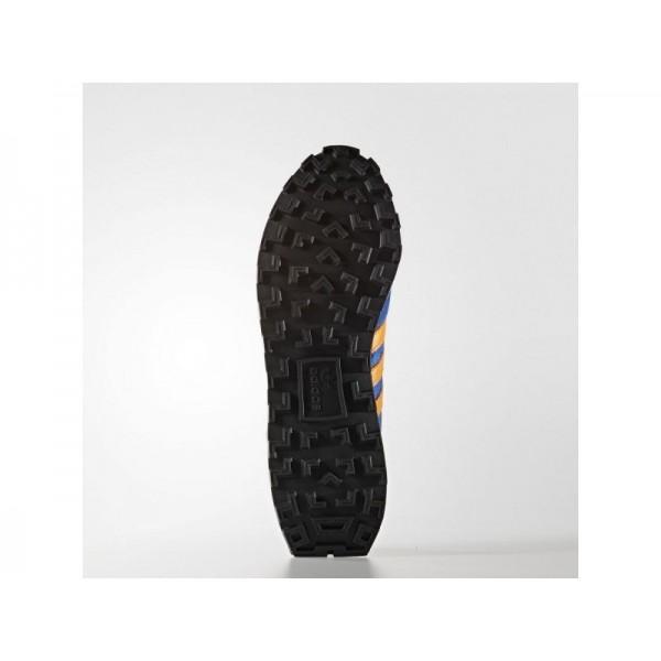 adidas Originals RACING 1 Herren Schuhe - Power-Blau/Hell Orange/Schwarz