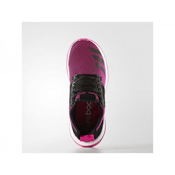 Adidas Pure Boost für Damen Running Schuhe - Black/Black/Shock Pink S16