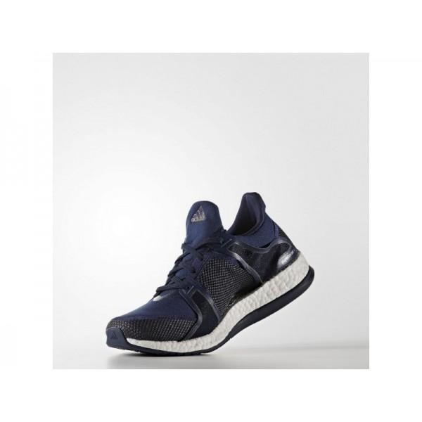 Adidas Pure Boost für Damen Training Schuhe günstig - Collegiate Navy/Night Navy/Ftwr White