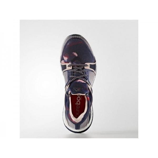 Adidas Pure Boost für Damen Training Schuhe günstig - Collegiate Navy/Vapour Pink F16/Ray Red F16