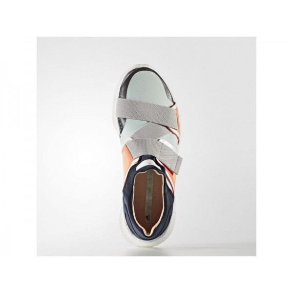Adidas Damen Pure Boost Training Schuhe - Night Navy/Solar Orange/Radiant Gold F10