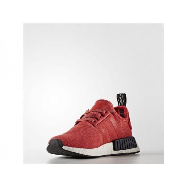 Adidas NMD R1 für Damen Originals Schuhe - Vivid Red S13/Vivid Red S13/Collegiate Navy
