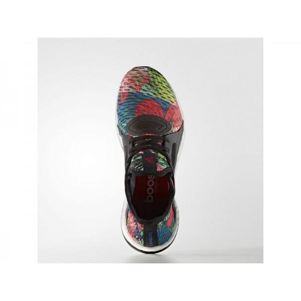 Adidas Pure Boost für Damen Running Schuhe - Black/Black/Ray Red F16