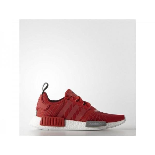 Adidas NMD R1 für Damen Originals Schuhe - Lush Red/Lush Red/Black
