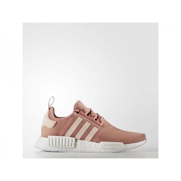 Adidas NMD R1 für Damen Originals Schuhe - Raw Pink F15/Vapour Pink F16/Ftwr White