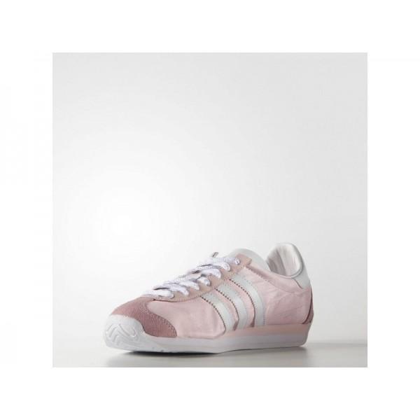 Adidas Damen Country OG Originals Schuhe - Halo Pink S16/Ftwr White/Halo Pink S16