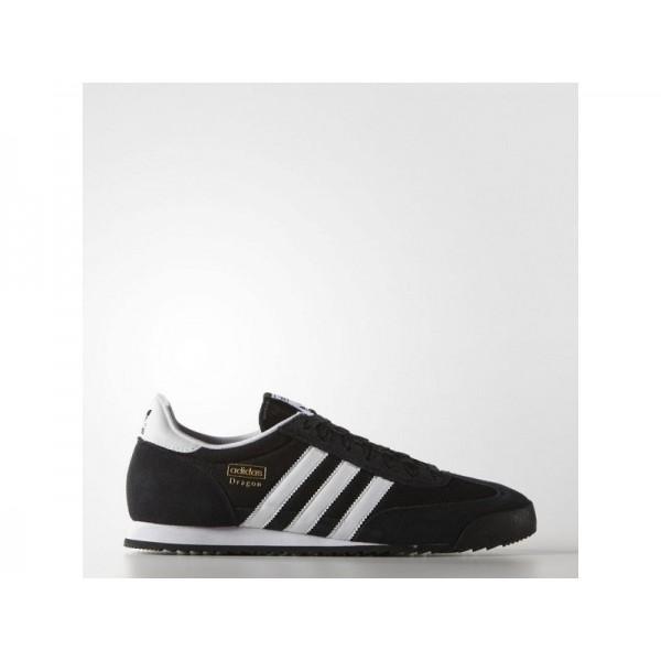 Originalsschuhe Adidas 'Dragon' Schwarz/Weiß/Gold Metallic Schuhe für Herren