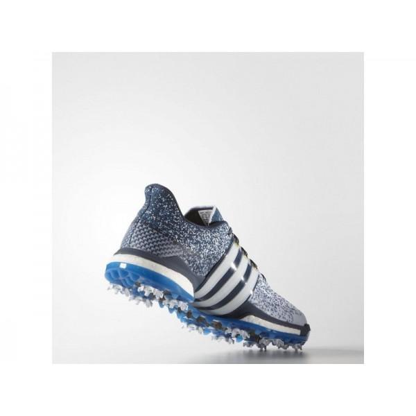Golfschuhe Adidas 'Tour 360 Prime Boost' Weiß/Shock Blau/Blau für Herren Schuhe