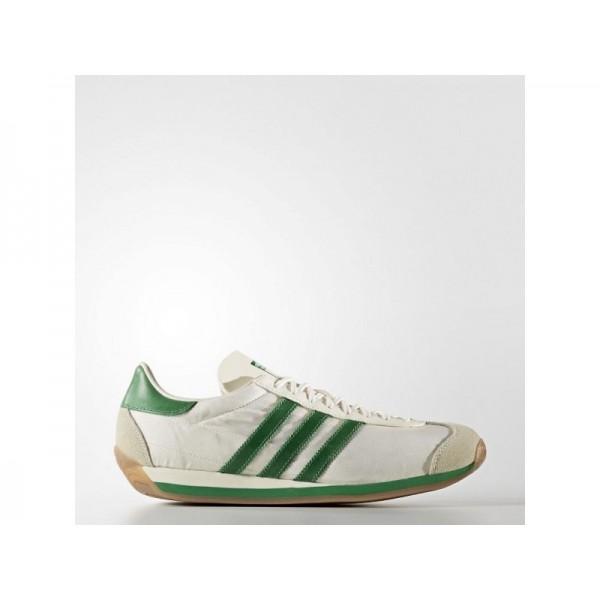 Originalsschuhe Adidas 'Country OG' Kreide Weiß/Grün/Cremeweiß Schuhe für Herren