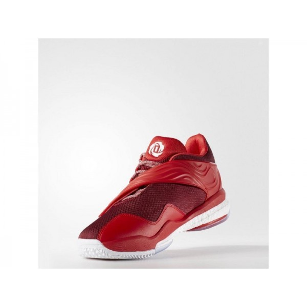 D ROSE ENGLEWOOD BOOST adidas Herren Basketball Schuhe - Collegiate Burgund/Ray Red F16/Ftwr Weiß