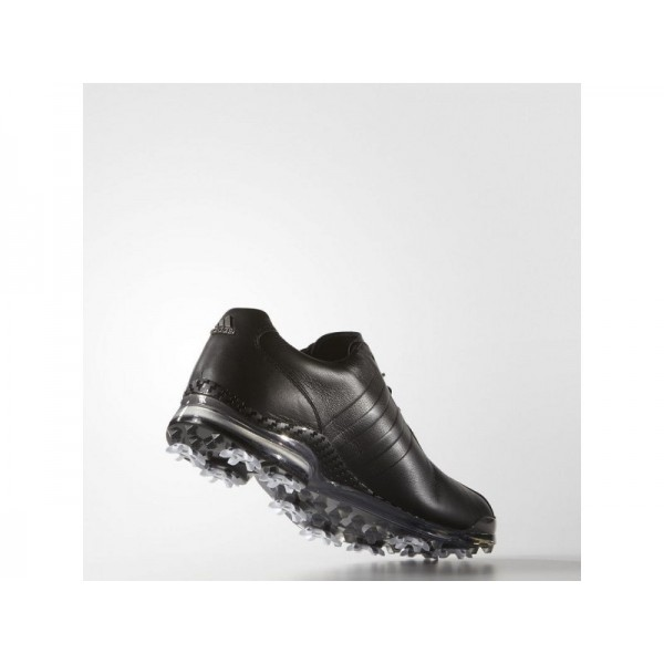 Golfschuhe Adidas 'adipure TP' Black/Dark Silber Metallics für Mädchen Schuhe