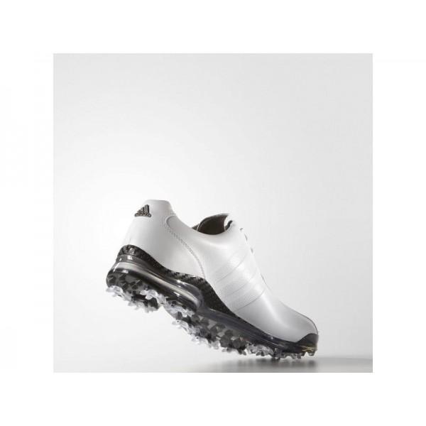 Golfschuhe Adidas 'adipure TP' Weiß/Dark Silver Metallics für Herren Schuhe