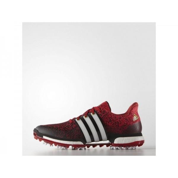 Golfschuhe Adidas 'Tour 360 Prime Boost' Schwarz/Weiß/Power Red Schuhe für Mädchen