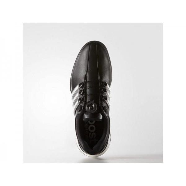 Golfschuhe Adidas 'adipower Boost 2.0' Weiß/Silber Metallic/Schwarz für Herren Schuhe