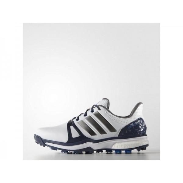 Golfschuhe Adidas 'adipower Boost 2.0' Weiß/Blau/Shock Blau Schuhe für Mädchen