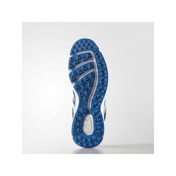 Golfschuhe Adidas 'adipower Sport Boost 2.0' Blau/Weiß/Blau Shock für Mädchen Schuhe