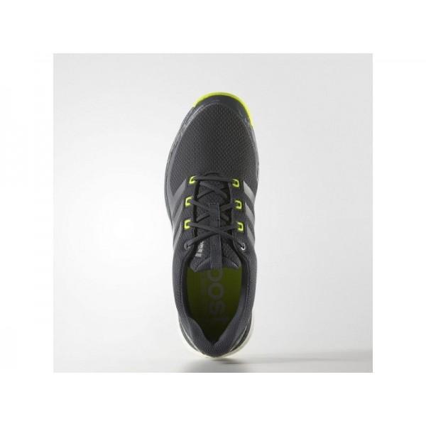 Golfschuhe Adidas 'adipower Sport Boost 2.0' Onyx/Eisen Metallic/Solar Gelb Schuhe für Mädchen