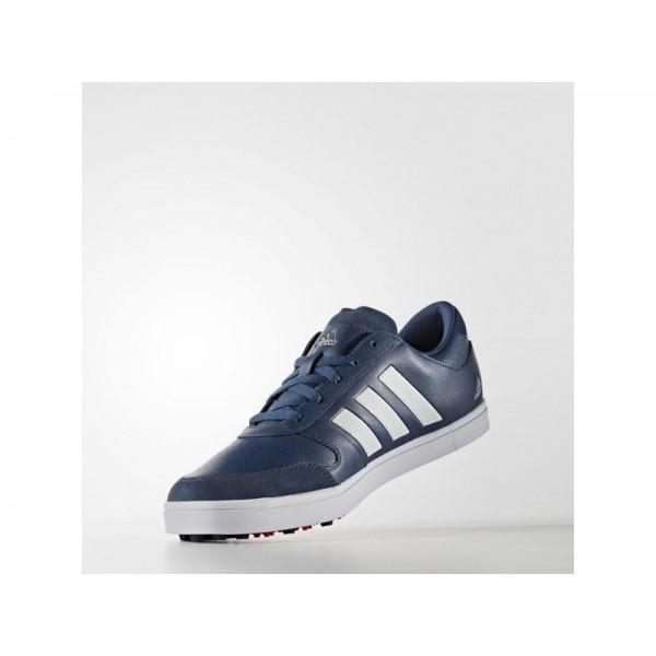 Golfschuhe Adidas 'adicross Gripmore 2.0' Mineral Blau S16/FTWR Weiß/Ray Red F16 Schuhe für Mädchen