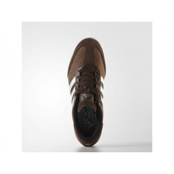 Golfschuhe Adidas 'adicross V WD' Braun/Weiß/Grün für Mädchen Schuhe