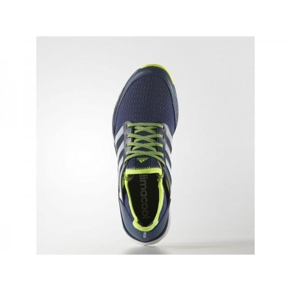 Golfschuhe Adidas 'Climacool' Nacht Marine/Weiß/Solar-Gelb Schuhe für Mädchen