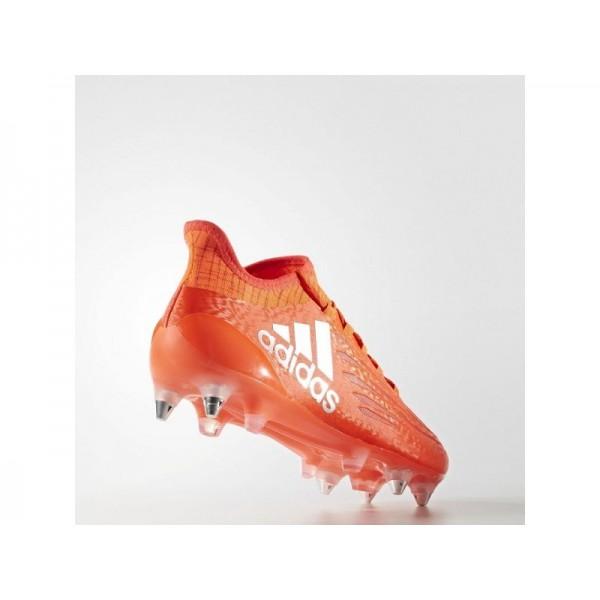 Fußballschuhe Adidas 'X 16.1 SG Fußballschuh' Solar-Rot/Silber Met./Hi-Res Red F13 für Mädchen Schuhe