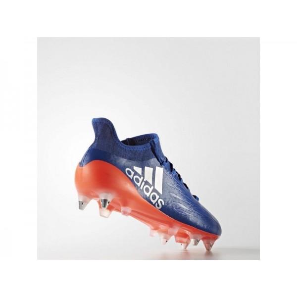 Fußballschuhe Adidas 'X 16.1 SG Fußballschuh' Königsblau/Silber Met./Solar Red Schuhe für Mädchen