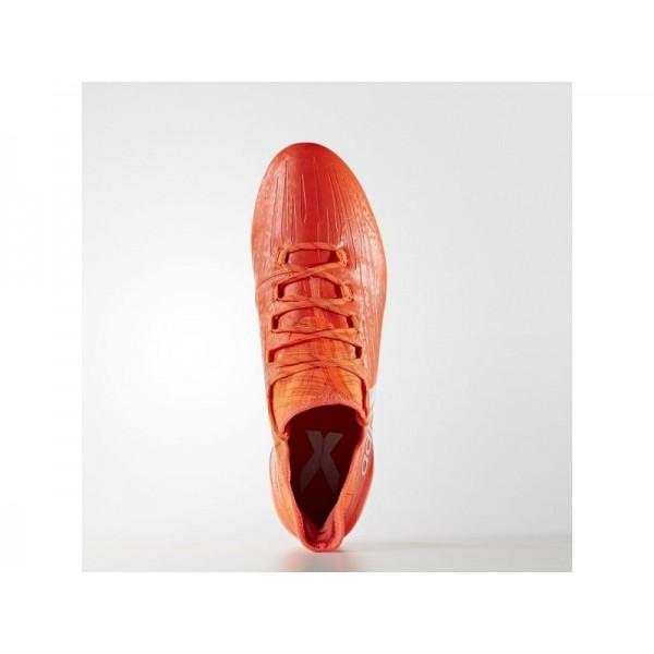 Fußballschuhe Adidas 'X 16.1 FG Fußballschuh' Solar-Rot/Silber Met./Hi-Res Red F13 Schuhe für Mädchen