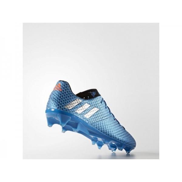 Fußballschuhe Adidas 'Messi 16.1 FG Fußballschuh' Shock Blau S16/Silber/Schwarz-Schuhe für Mädchen