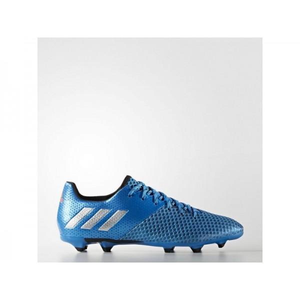 Fußballschuhe Adidas 'Messi 16.2 FG Fußballschuh' Shock Blau S16/Silber/Schwarz-Schuhe für Mädchen