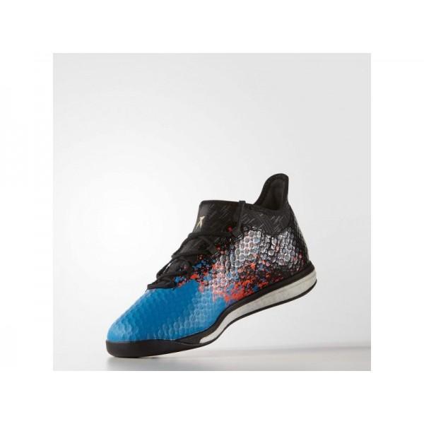 Fußballschuhe Adidas 'X 16.1 Paris Pack Street Fußballschuh' Schwarz/Blau Shock S16 Schuhe für Mädchen
